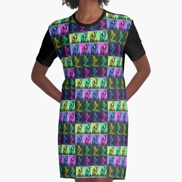 Dummy Love Graphic T-Shirt Dress