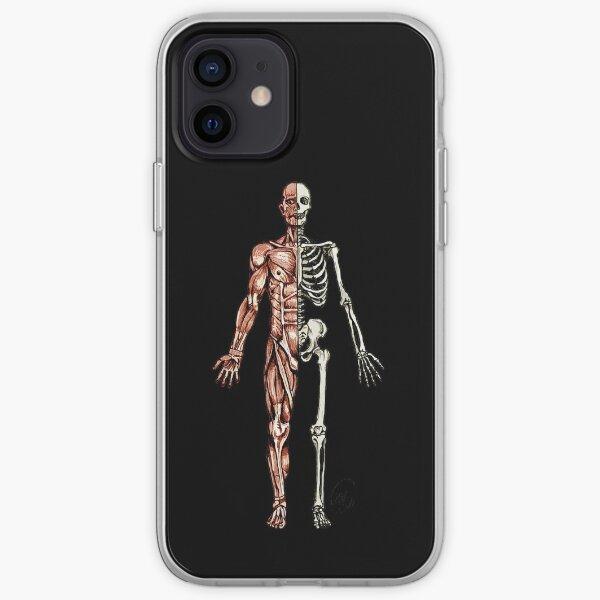 Half Muscle - Half Skeleton iPhone Soft Case