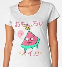 Juicy King Watermelon Premium Scoop T-Shirt