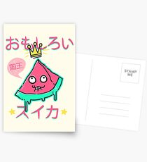 Juicy King Watermelon Postcards