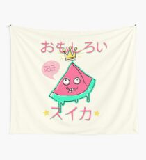 Juicy King Watermelon Wall Tapestry