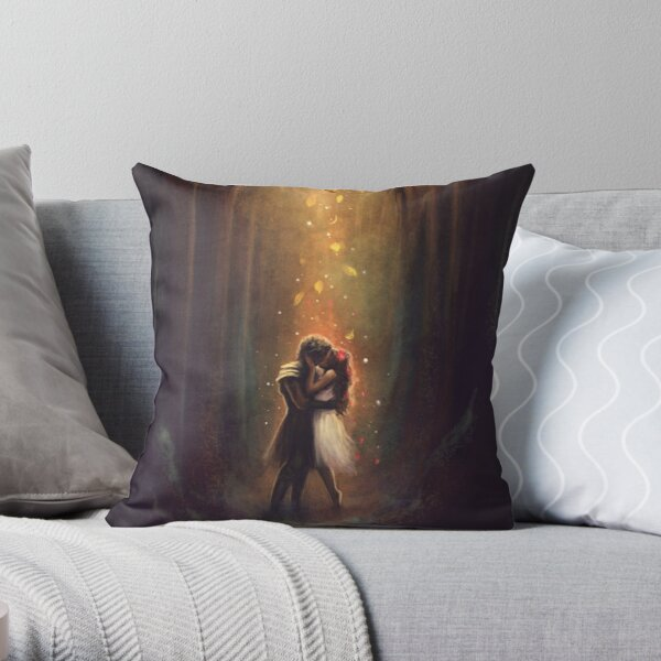 Reunion - Persephone and Hades Throw Pillow