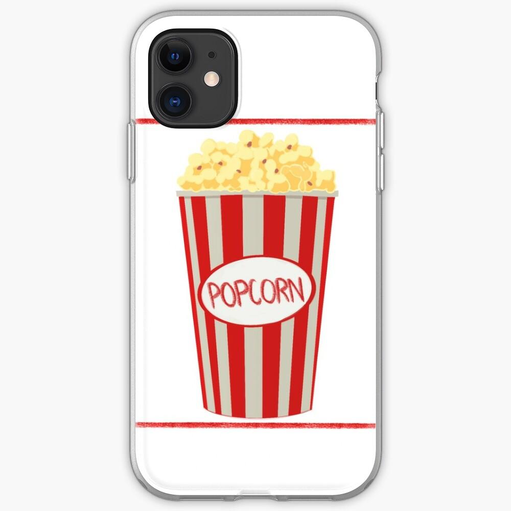 Popcorn Design iPhone Soft Case