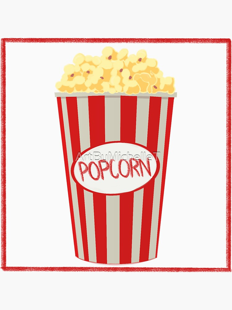 Popcorn Design by ArtByMichelleT