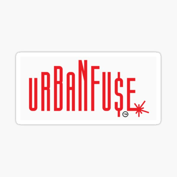 Urban Fu$e Logo Sticker