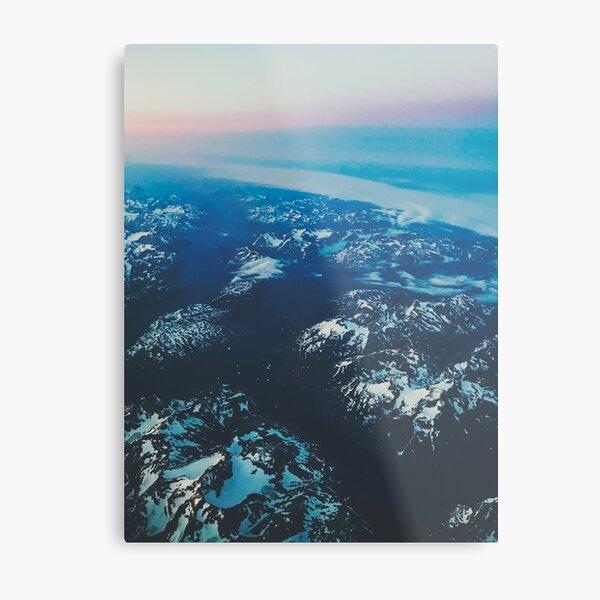 Plane View Metal Print