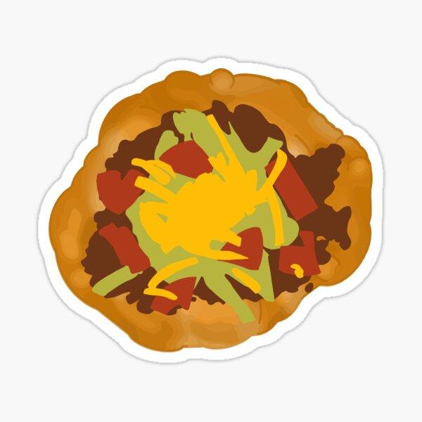Bannock / Frybread Taco Sticker
