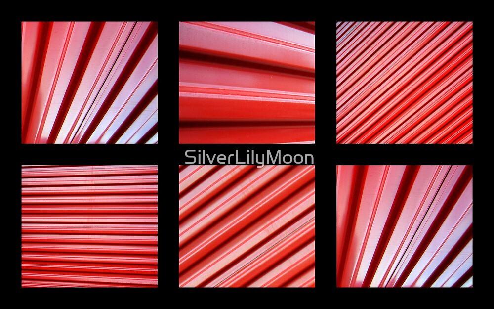 Red Garage Doors by SilverLilyMoon