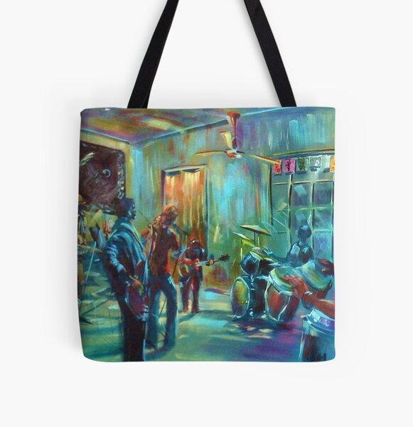 Jam at T-bones Agnes Water All Over Print Tote Bag
