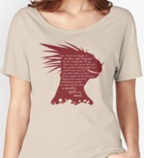ES: Who are the Argonians? Women's Relaxed Fit T-Shirt