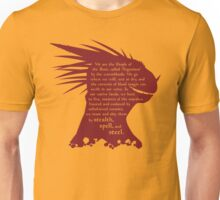 ES: Who are the Argonians? Unisex T-Shirt