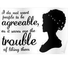 Jane Austen-inspired Quote