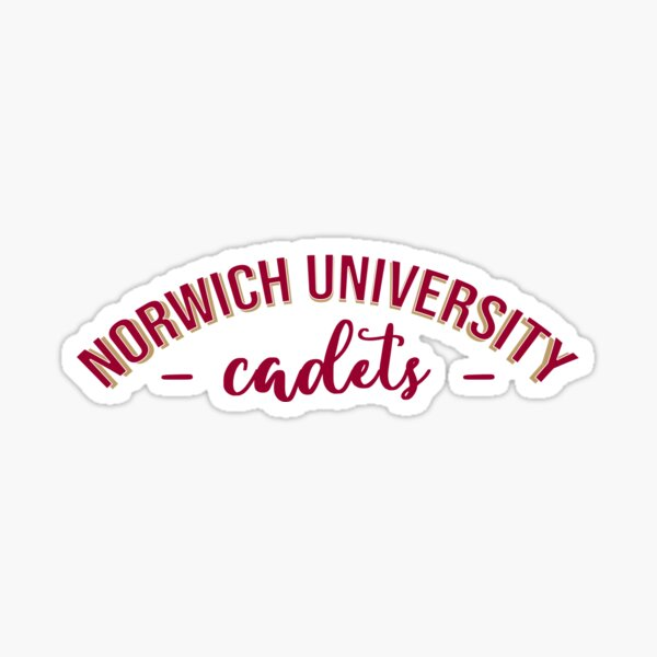 Norwich University Cadets Sticker