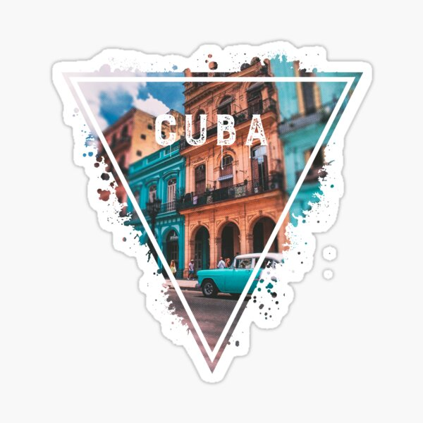 CUBA Pegatina