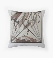 Leaving the nest Throw Pillow