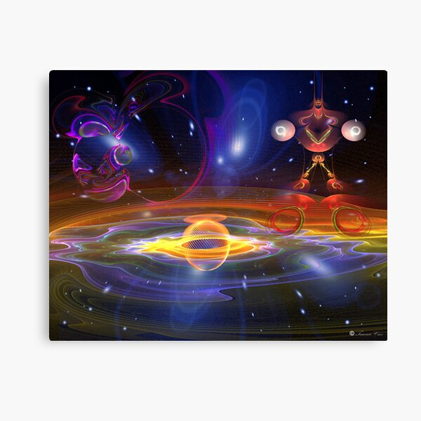 Is There Life... Out There???? Canvas Print