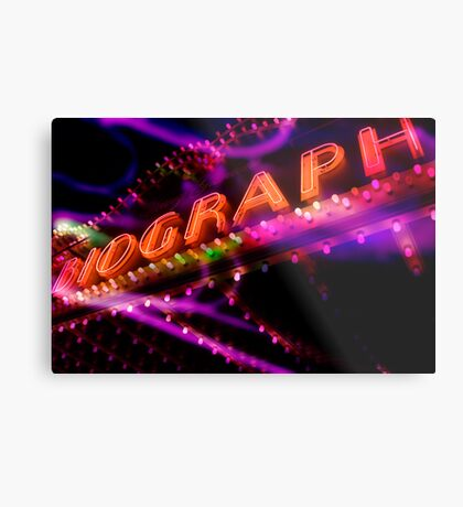biograph theater, chicago Metal Print