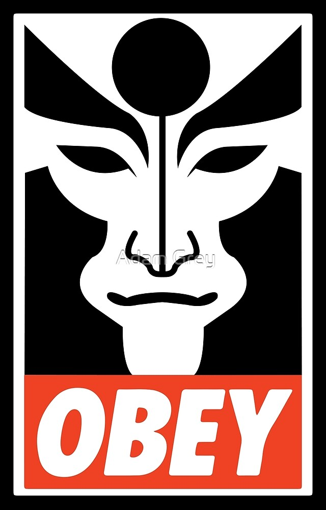 Obey Amon by Adam Grey
