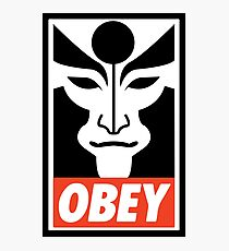 Obey Amon Photographic Print
