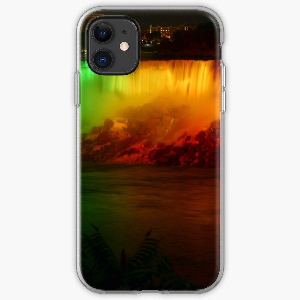 The Rainbow-Colored American Falls iPhone Case & Cover
