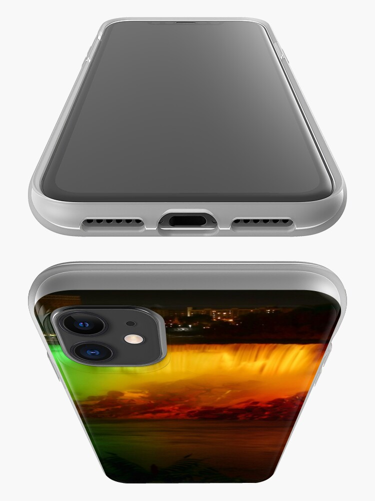 Alternate view of The Rainbow-Colored American Falls iPhone Case & Cover