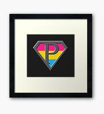 Super Pan Framed Print