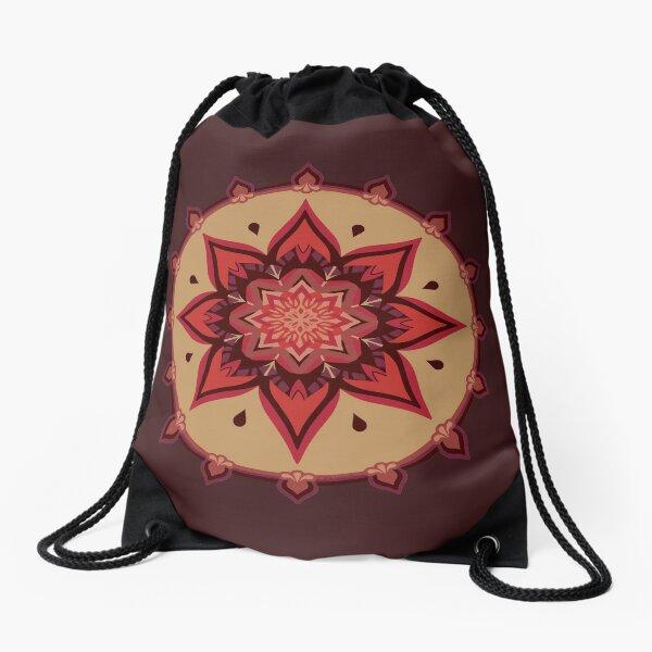 Blooming Passion Drawstring Bag