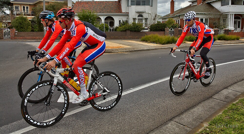 UCI Competitors by Ian Creek