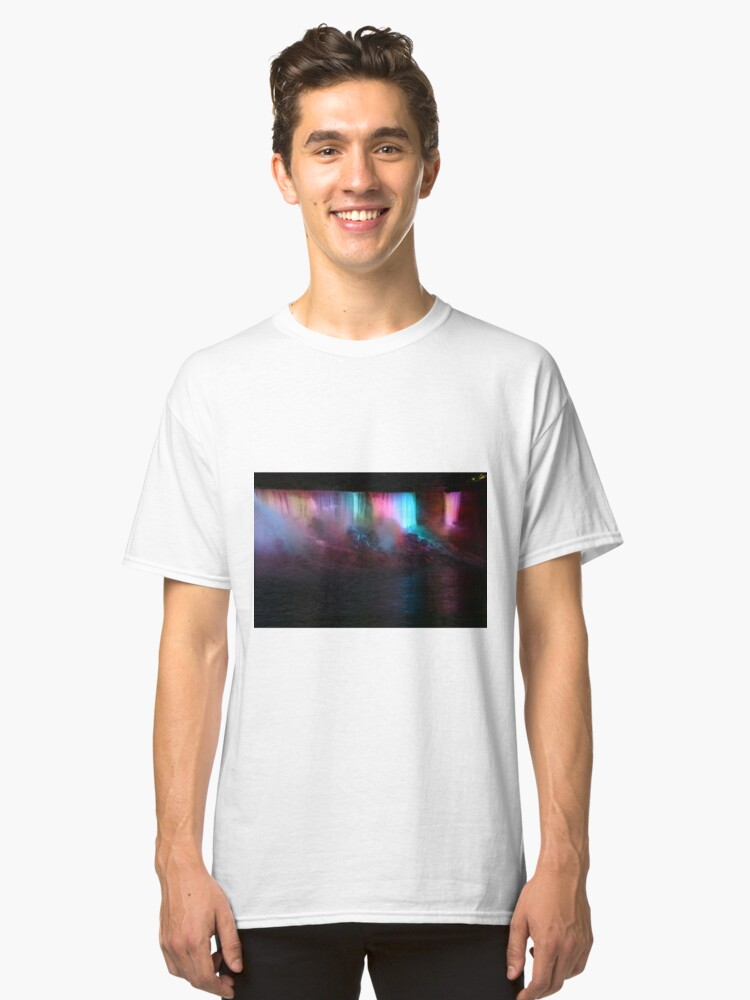 Alternate view of Rainbow American Falls Classic T-Shirt