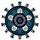 Blue Whimsy by Melissa K. Vassar-Belloso