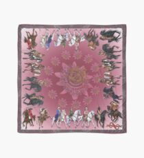 D1G1TAL-M00DZ ~ The Riders ~ Illustrations by tasmanianartist for Karl May Friends 140619 Scarf