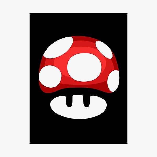 Super Mushroom Photographic Print