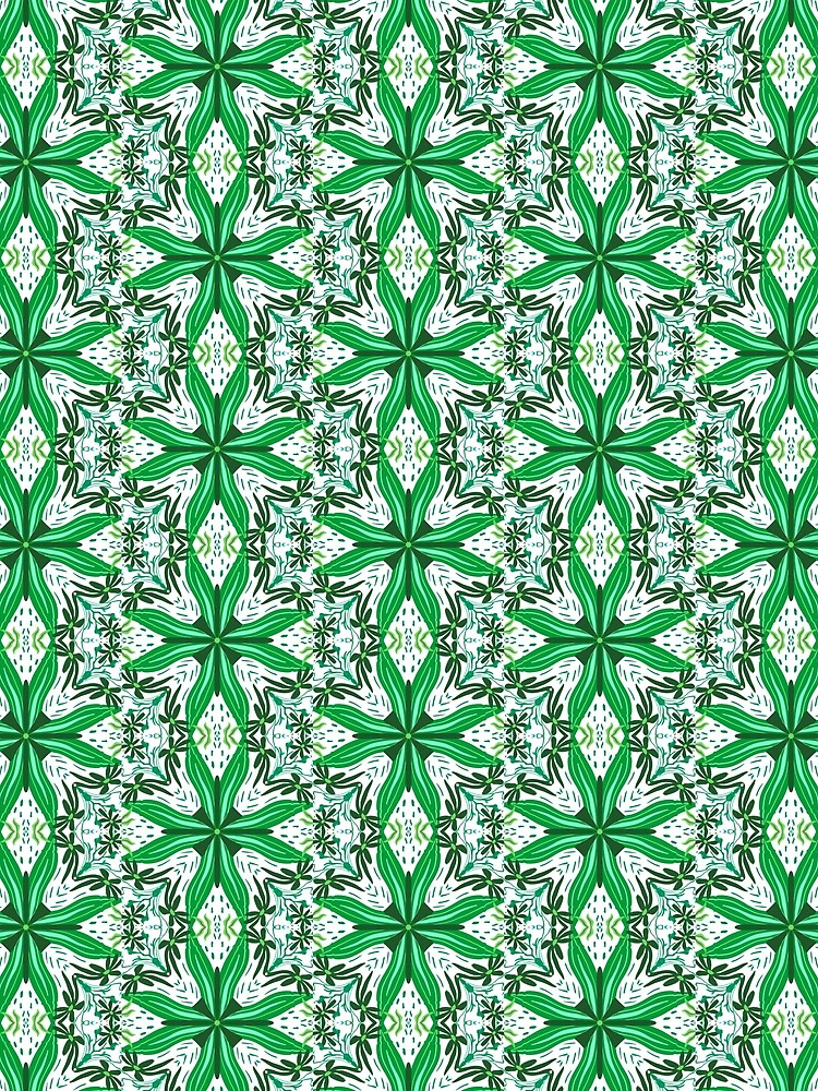 Green tile by roseglasses