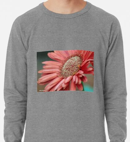 GERBERA IN PINK Lightweight Sweatshirt
