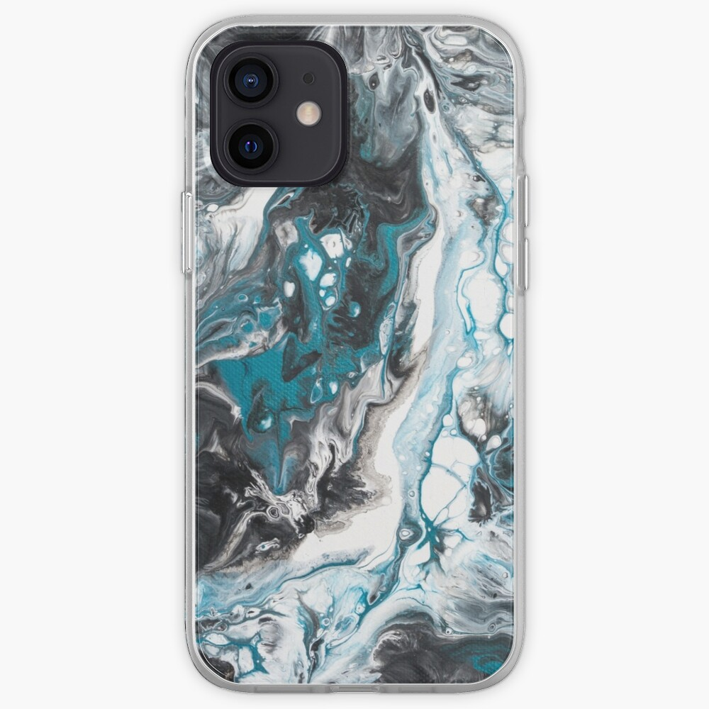 Fluid painting Color call I iPhone Case & Cover