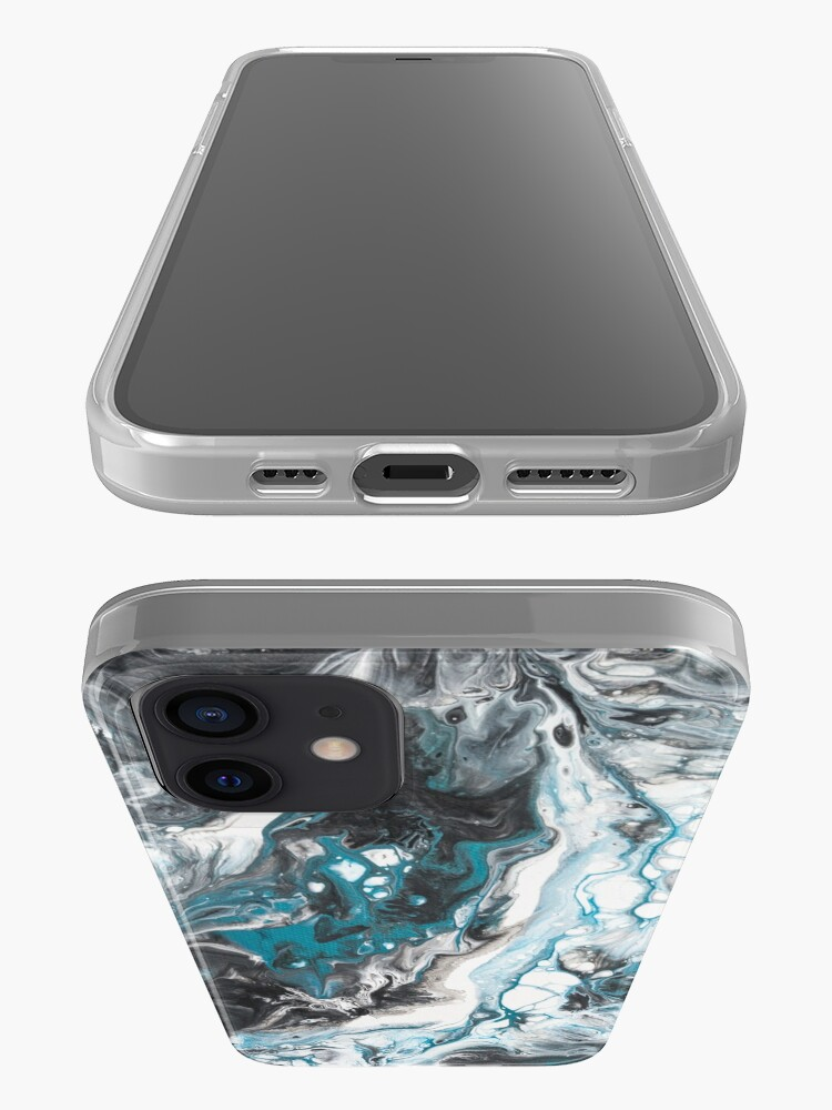 Alternate view of Fluid painting Color call I iPhone Case & Cover