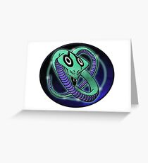 clan cloud cobra Greeting Card