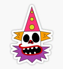 Clown Bed Sticker