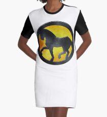 Eridani Light Horse Graphic T-Shirt Dress