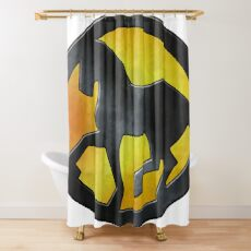 Eridani Light Horse Shower Curtain