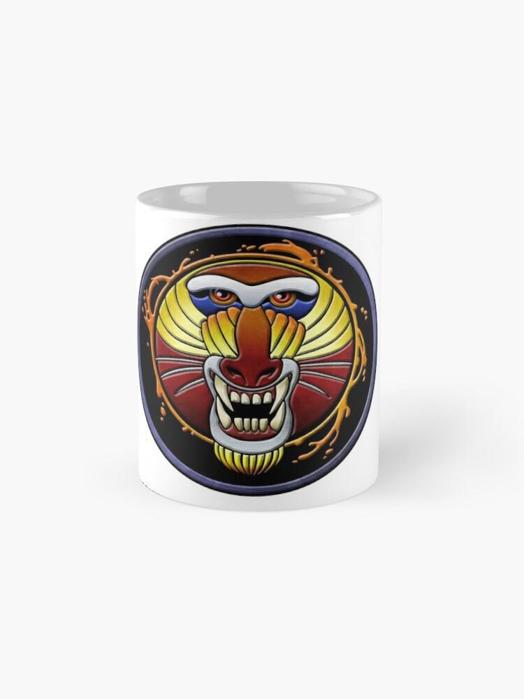 Alternate view of clan fire mandrill Mug