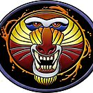 clan fire mandrill by coldfoxfusion