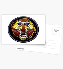 clan fire mandrill Postcards