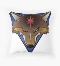 clan coyote Throw Pillow