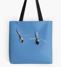 Duet of Helicopters, Up Close! Tote Bag