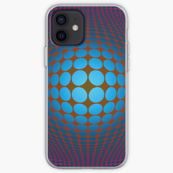 Victor Vasarely Homage iPhone Soft Case