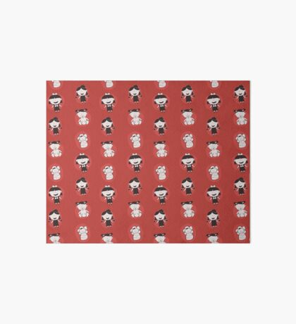 Girls Growing Up (Patterns Please) Art Board Print