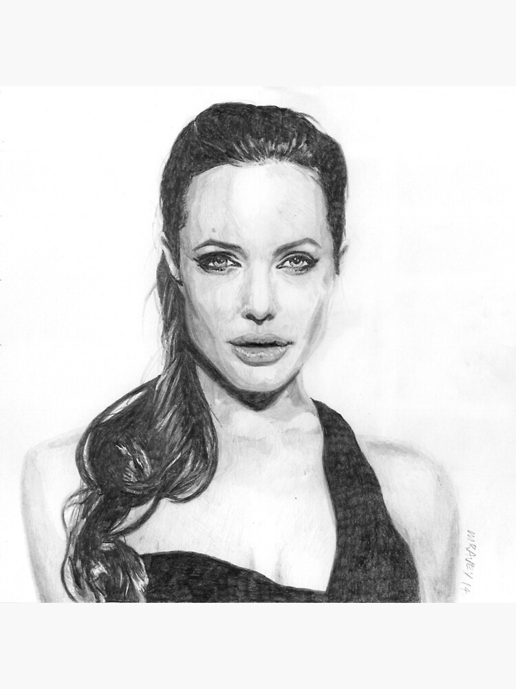 Angelina Jolie by michelravey