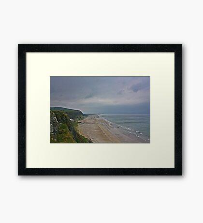 Coast View Northern Ireland Framed Print