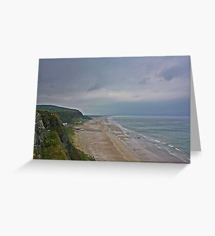 Coast View Northern Ireland Greeting Card